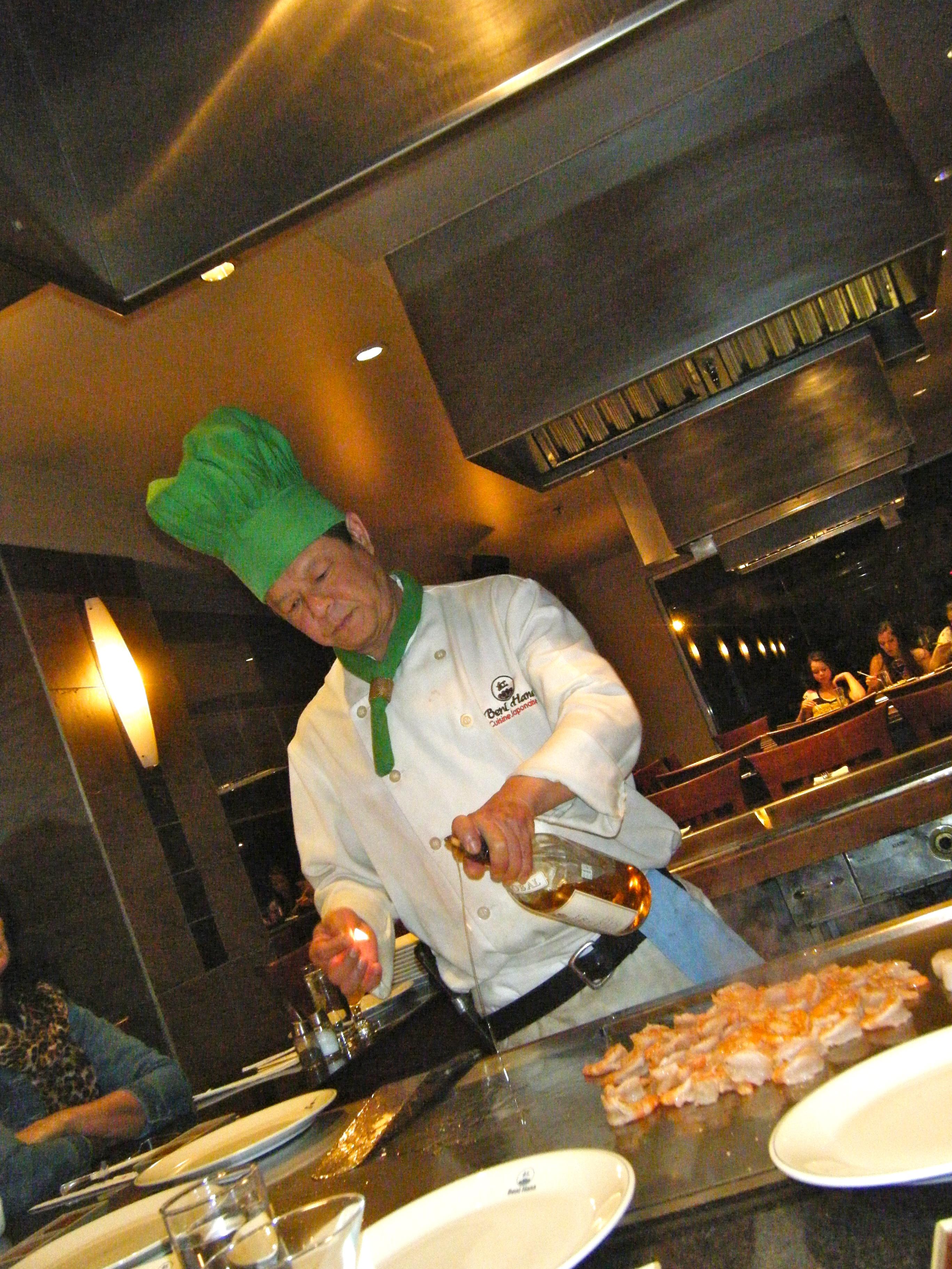 Beni hana cuisine japonaise cap ou pas cap for Que manger entre amis
