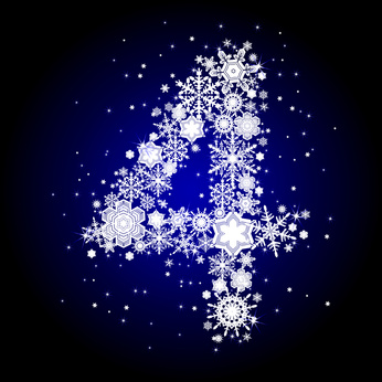 alphabet snow 4